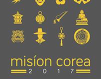 """Ilustración Suéter """"Misión Corea 2017"""""""