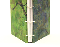 Book Arts: Sewn Structures [Student Work]