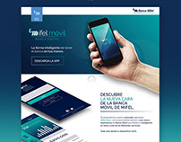 Mifel Móvil App - Landing Page
