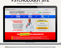 Addiction Therapy Web Design