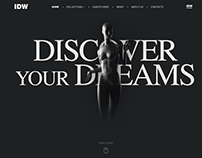 IDW - Mannequins World Webdesign