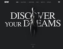 IDW - Mannequins World Webdesign