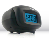 SHARP LCD Alarm Clock for Kmart and Walmart