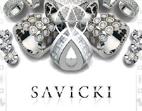 Brand Design&Art Direction 4 Jewellery Company/SAVICKI.