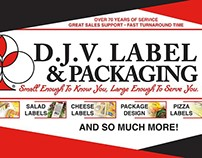 D.J.V. Label & Packaging Art