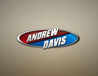 ANDREW DAVIS RACING | LOGO & WEB DESIGN