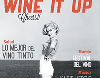 Magazine project. Wine it up!