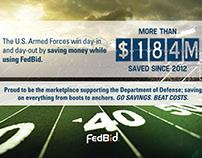 FedBid Print Advertisements