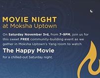 Moksha Yoga Uptown Promotional Material