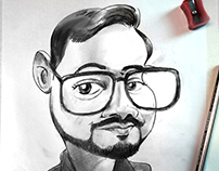 Suraj Caricature
