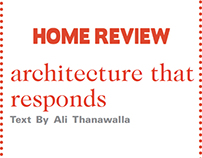 Home Review - Publication