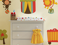 Baby Circus Room Theme - Licensing