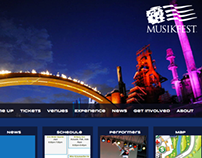 Musikfest Web Page for Interactive Design 1