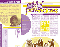 Paws & Claws Duotone Newsletter