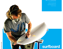 Surfboard Process Poster