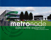 Metronode Data Centre - BRAND IDENTITY