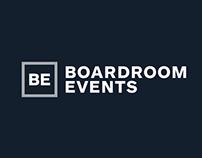 Boardroom Events Branding
