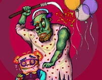 Frankenstein concept art