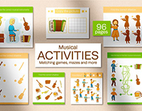Musical Instruments Kids Activities