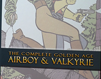 Airboy and Walkyrie - Comic Book restoration project