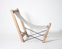 Kryss - A Norwegian Handmade Lounge Chair