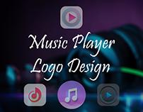 Music Player App Logo Design