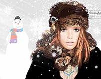 Simply Be Christmas Campaign Illustration