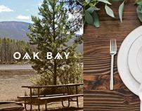 OAK BAY - Grill House & Sushi Bar Branding