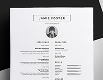 Resume/CV - 'Jamie'