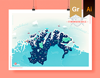 FinnmarKable - Travel map of northern Norway