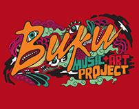 BUKU Music+Art Project Shirt Design