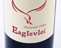 Eaglevlei Wine Estate Logo and Label Design