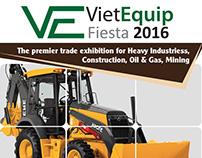 Viet Equipment brochure for OMG company