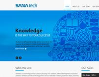 SANAtech website