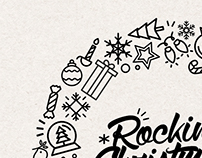 Rockin' Christmas Event Branding
