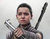 Rey of Hope: Star Wars The Force Awakens