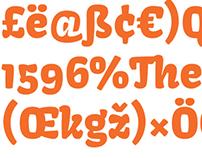 Kavoon Typeface