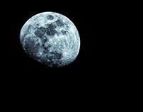 Moon over Yukon