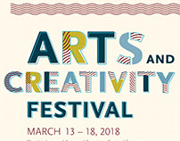 Arts and Creativity Festival Poster