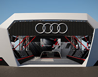 AUDI DTM Moscow. project 2017.