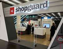 Shopguard stand at the Euroshop exhibition