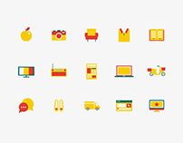 Icon System for Swiss E-Commerce