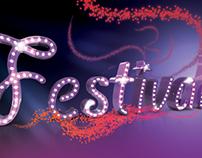 Festival logo Advertising