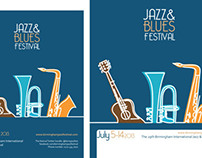 Jazz & Blues posters.