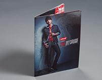 """Levi's® 2012 SS """"REDvolution"""" catalogue"""
