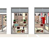 Liquor store design in Tinos,Greece