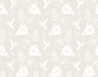Hummingbird Tissue Paper