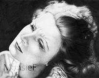 Old movie stars: Greta Garbo