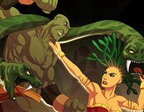 Utimate Aswang Battle Illustrations