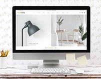 Furniture eCommerce Website UI ADOBE XD Free Download